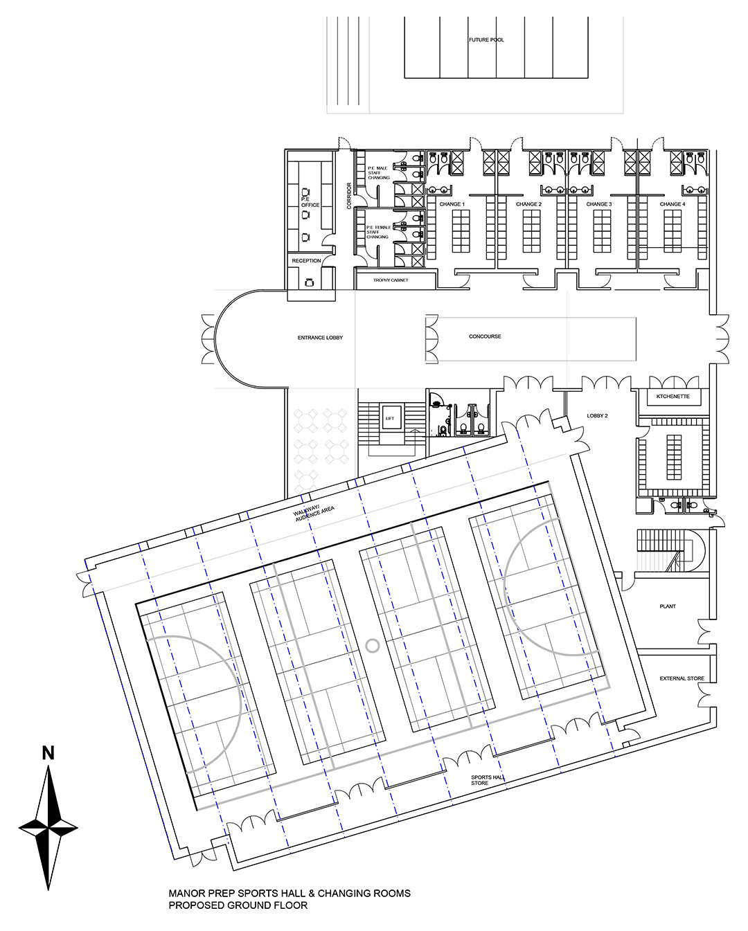 Proposed Sports Hall