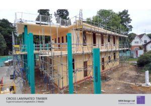 Frilford Heath Golf Club CLT Offsite Construction